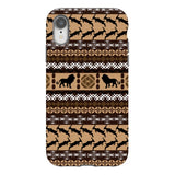 Africa-Lion-phone-case-IPhone Blast Case PRO For iPhone XR