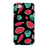 Summer-pattern-black-phone-case- IPhone Blast Case PRO For iPhone SE
