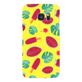 Summer-pattern-Yellow-phone-case-Samsung Blast Case LITE For Samsung Galaxy S7