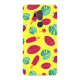 Summer-pattern-Yellow-phone-case-LG Blast Case LITE For LG G7