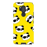 panda-Yellow-phone-case-LG Blast Case PRO For LG G7