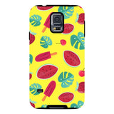 Summer-pattern-Yellow-phone-case-Samsung Blast Case PRO For Samsung Galaxy S5