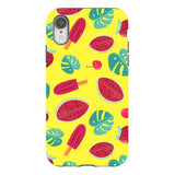 Summer-pattern-Yellow-phone-case- IPhone Blast Case PRO For iPhone XR