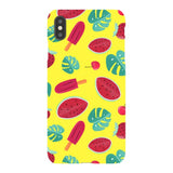 Summer-pattern-Yellow-phone-case- IPhone Blast Case LITE For iPhone XS Max