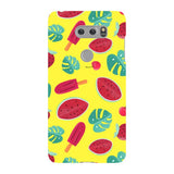 Summer-pattern-Yellow-phone-case-LG Blast Case LITE For LG V30