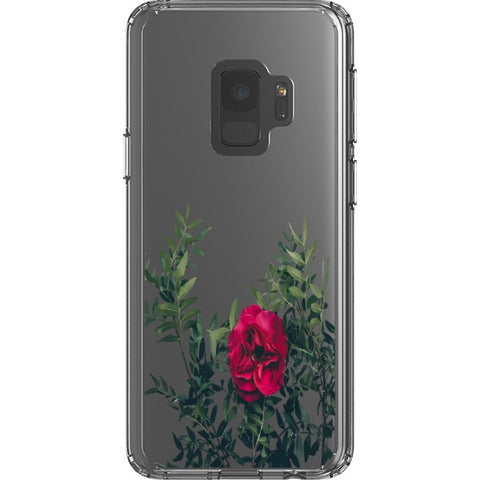 red-rose-transparent-phone-case Blast Case Style Type B For Samsung Galaxy S9