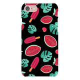 Summer-pattern-black-phone-case- IPhone Blast Case LITE For iPhone 8