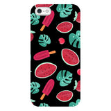 Summer-pattern-black-phone-case- IPhone Blast Case LITE For iPhone 5