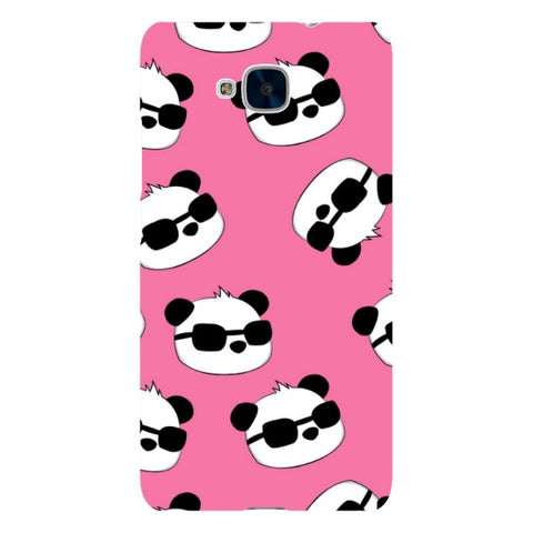 panda-Pink-phone-case-Huawei Blast Case LITE For Huawei Honor 5C