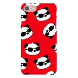 panda-Red-phone-case-IPhone Blast Case LITE For iPhone 8