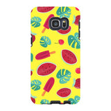 Summer-pattern-Yellow-phone-case-Samsung Blast Case PRO For Samsung Galaxy S6 Edge Plus