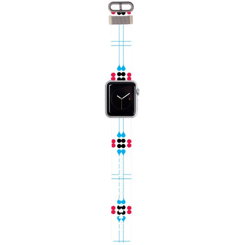 WATCH STRAP - Pattern 2 for apple watch 38 mm in Nylon