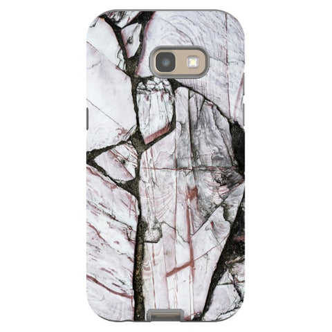 MARBLE - Cracked White - Samsung-phone-case Blast Case PRO For Samsung A5 - 2017 Model