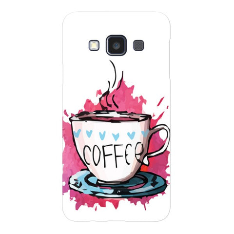 Coffee-illustration-phone-case-Samsung Blast Case LITE For Samsung A3 - 2014 Model