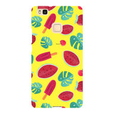 Summer-pattern-Yellow-phone-case-Huawei Blast Case LITE For Huawei P9 Lite
