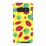 Summer-pattern-Yellow-phone-case-Samsung Blast Case PRO For Samsung Galaxy S10 Plus