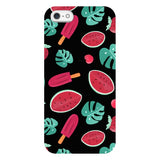 Summer-pattern-black-phone-case- IPhone Blast Case LITE For iPhone SE