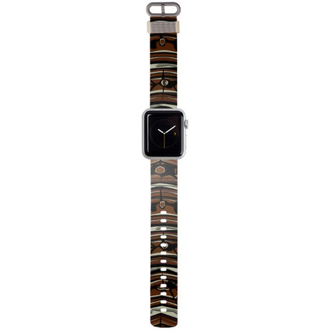 WATCH STRAP - Turtle for apple watch 38 mm in Nylon