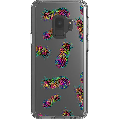 radioactive-pineapple-transparent-phone-case Blast Case Style Type B For Samsung Galaxy S9