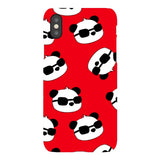 panda-Red-phone-case-IPhone Blast Case LITE For iPhone X