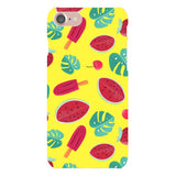 Summer-pattern-Yellow-phone-case- IPhone Blast Case LITE For iPhone 8