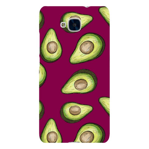 Guacamole-Purple-phone-case-Huawei Blast Case LITE For Huawei Honor 5C