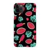 Summer-pattern-black-phone-case- IPhone Blast Case LITE For iPhone 11 Pro Max