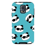 panda-Light-Blue-phone-case-Samsung Blast Case PRO For Samsung Galaxy S5