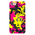 Camo-Pink-Yellow-phone-case-IPhone Blast Case LITE For iPhone 8