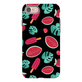 Summer-pattern-black-phone-case- IPhone Blast Case LITE For IPhone  SE2