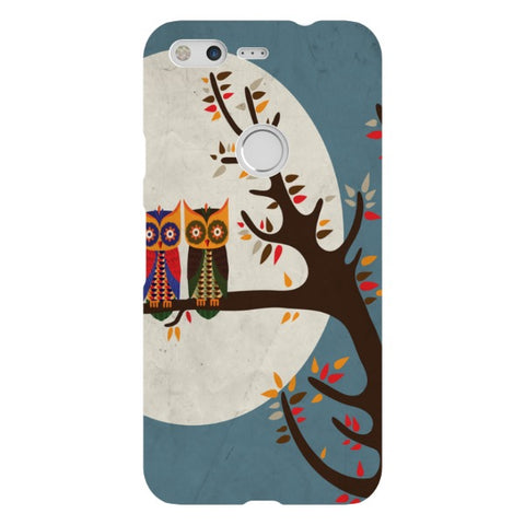Owels-Illustration-phone-case-Google-Pixel Blast Case LITE For Google Pixel