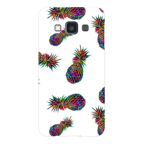 Radioactive-Pineapple-White-phone-case- Samsung Blast Case LITE For Samsung A3 - 2014 Model