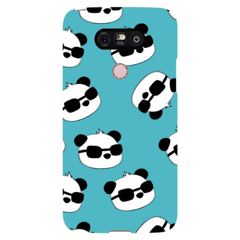 panda-Light-Blue-phone-case-LG Blast Case LITE For LG G5