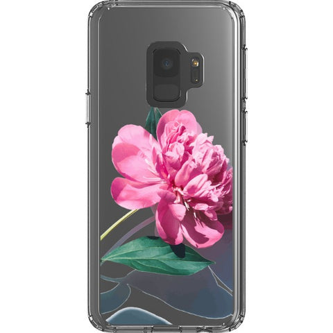 pink-rose-transparent-phone-case Blast Case Style Type B For Samsung Galaxy S9