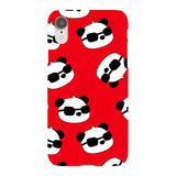panda-Red-phone-case-IPhone Blast Case LITE For iPhone XR