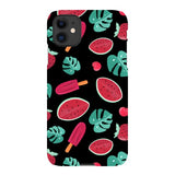 Summer-pattern-black-phone-case- IPhone Blast Case LITE For iPhone 11