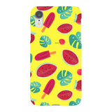 Summer-pattern-Yellow-phone-case- IPhone Blast Case LITE For iPhone XR