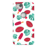 Summer-pattern-White-phone-case-Google-Pixel Blast Case PRO For Google Pixel 2