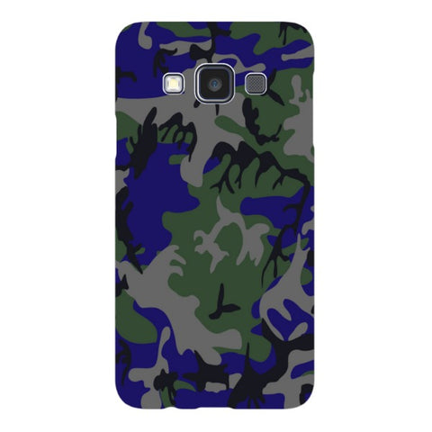 Camo-blue-phone-case-Samsung Blast Case LITE For Samsung A3 - 2014 Model