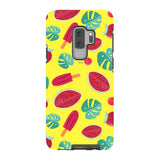 Summer-pattern-Yellow-phone-case-Samsung Blast Case PRO For Samsung Galaxy S9 Plus