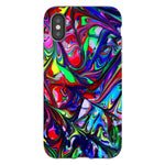 Abstract-2-phone-case- IPhone Blast Case PRO For iPhone X