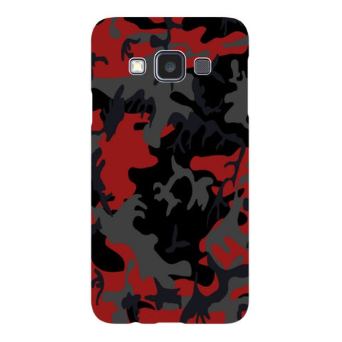 Camo-Red-phone-case-Samsung Blast Case LITE For Samsung A3 - 2014 Model