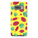 Summer-pattern-Yellow-phone-case-Samsung Blast Case PRO For Samsung Galaxy Note 8