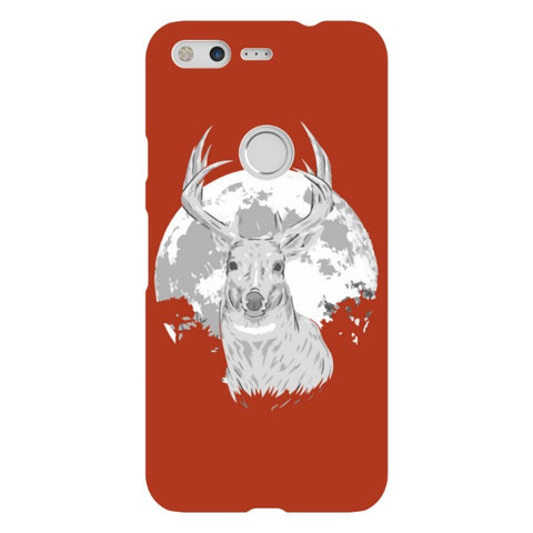 deer-Red-phone-case-Google-Pixel Blast Case LITE For Google Pixel