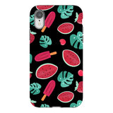 Summer-pattern-black-phone-case- IPhone Blast Case PRO For iPhone XR