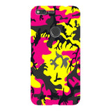 Camo-Pink-Yellow-phone-case-Google-Pixel Blast Case LITE For Google Pixel XL