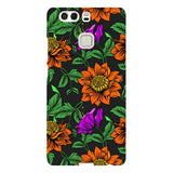 Flowers-B-phone-case-Huawei Blast Case LITE For Huawei P9