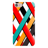 Line-pattern-White-phone-case-IPhone Blast Case LITE For iPhone 8