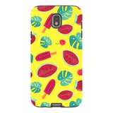 Summer-pattern-Yellow-phone-case-Samsung Blast Case PRO For Samsung Galaxy J7