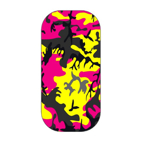 CLICKIT - CAMO - pinkphone holder